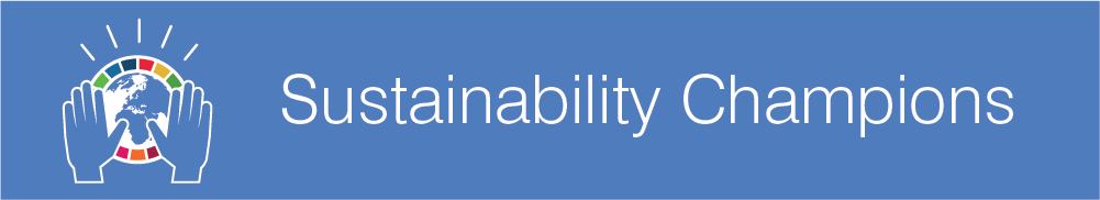 Sustainability Champions banner