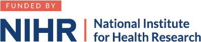 Funded by the National Institute of Health Research